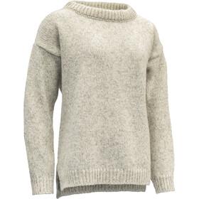 Devold Nansen Suéter Costura Dividida Mujer, beige